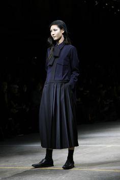 Yohji Yamamoto Black and blue.
