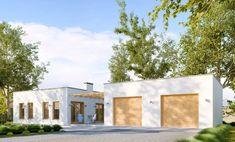 #budowadomu #projektgotowy #projektygotowe #projekt #budowa #taniewbudowie Garage Doors, Floor Plans, Outdoor Decor, Home Decor, Interior Design, Home Interior Design, House Floor Plans, Home Decoration, Decoration Home