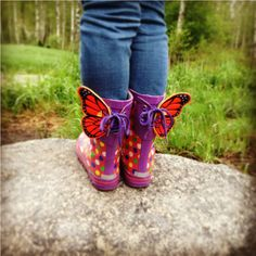 Transform your summer into something beautiful and fun with butterfly SHWINGS for your shoes.