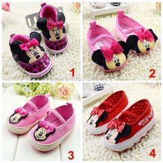 Topánočky minnie mouse, Minnie Mouse, Baby Shoes, Kids, Outfits, Inspiration, Clothes, Fashion, Children, Outfit