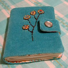 needle book: Needle books, Amy Butler, and elephant ribbon