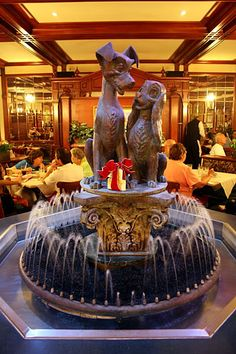 "I may have to take my mom here next time- ""Lady & the Tramp"" is one of her favorites. Tony's Town Square Restaurant - So beautiful"