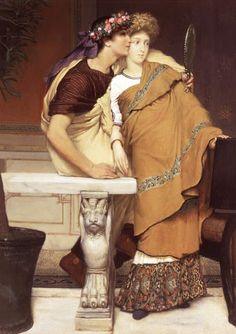 Sir Lawrence Alma-Tadema - The Honeymoon