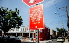 """Street Art Project. """"Rap Quotes"""" Links City Spots and Music, by Jay Shells."""