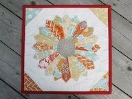 holy cannoli! heirloom dresden quilt #freshlemons #quilts