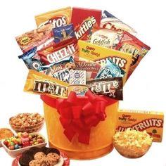 Junk Food Snack Gift Basket 3799 Baskets Birthday Hampers