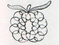 CQMagOnline.com: Needle Tatted Pumpkin by Sherry Matthews - Free pattern #tatting #lace #fruit
