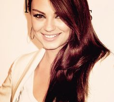 mila kunis. if i ever had a movie written about me, this is the actress i would want to play me. hands down.