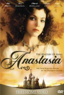 ANASTASIA: THE MYSTERY OF ANNA  (1986) ~ Amy Irving, Olivia de Havilland, Jan Niklas. Director: Marvin J. Chomsky. (TV Movie)  IMDB: 6.6 _________________________ http://en.wikipedia.org/wiki/Anastasia:_The_Mystery_of_Anna _________________________ http://www.rottentomatoes.com/m/anastasia_the_mystery_of_anna/ _________________________ http://www.tcm.com/tcmdb/title/458822/Anastasia-The-Mystery-of-Anna/ _________________________