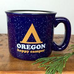 Happy Camper Oregon | Coffee Mug – Little Bay Root