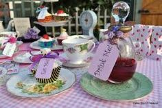 food and drink ideas - mad hatter tea party ideas - Google Search