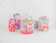 Geometric Nesting Dolls!