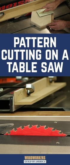 Pattern cutting on a table saw is an easy and fast way to produce lots of identical parts. I've used this technique to make parts for everything from bird houses to Adirondack chairs. Get started by making the fence.