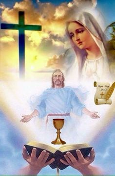 Jesus Wife, Jesus Son Of God, Mary And Jesus, Pictures Of Jesus Christ, Religious Pictures, Blessed Mother Mary, Blessed Virgin Mary, Christian Images, Christian Art