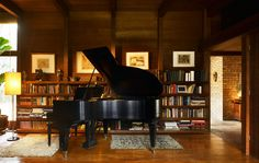 Schweikher House music room