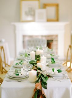 beautiful holiday tablescape