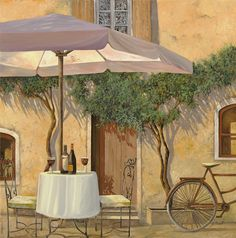 """Un Ombra In Cortile"" by Guido Borelli"