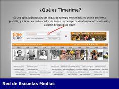 Es una aplicación para hacer líneas de tiempo multimediales online en forma gratuita, y a la vez es un buscador de líneas ...