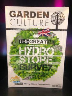 Garden Culture Magazine at the Home Grown Expo Hydro Store, Coventry, Culture, Magazine, Garden, Plants, Garten, Lawn And Garden, Magazines