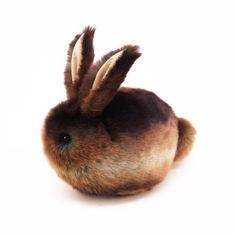 Cinnamon the Brown Bunny Stuffed Plush Toy