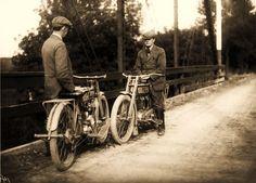 m William Harley and Walter Davidson 1913