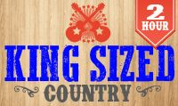 Running music mix entitled King Sized Country  from Rock My Run