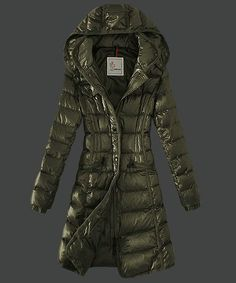 70b1fbaad9de New Cheap Moncler Hermine Down Coats Womens Windproof Coffee Jackets Outlet  Online Sale.