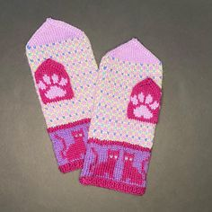 Mittens Pattern, Needles Sizes, Hand Knitting, Ravelry, Cat Lovers, Stitch, Projects, Log Projects, Full Stop