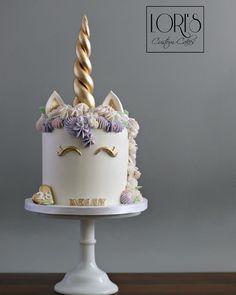 No automatic alt text available. Second Weddings, Custom Cakes, Unicorn Cakes, Birthday Cake, Pastel, Type 3, Desserts, Facebook, Food