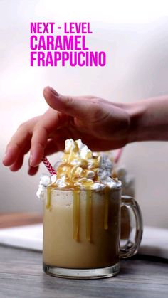 Karamell Frappucino - My - Starbucks Recipes, Starbucks Drinks, Starbucks Coffee, Yummy Drinks, Yummy Food, Tasty, Refreshing Drinks, Healthy Drinks, Food To Make