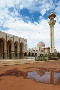 The Grand Mosque, 1948, Bamako, Mali Reproduction photographique sur AllPosters.fr