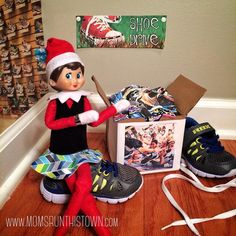 Fitsie the Elf The Elf, Elf On The Shelf, Third World Countries, Organizations, Holiday Decor, Running Shoes, Christmas, Store, Check