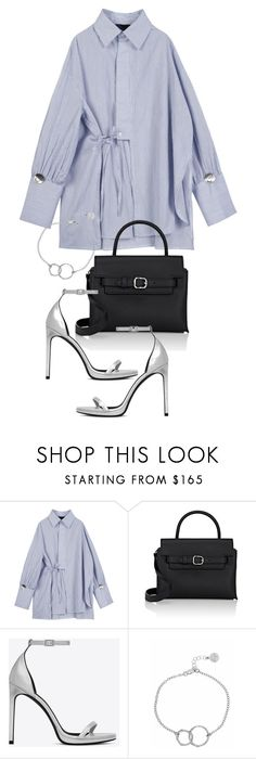 """""""Untitled #21339"""" by florencia95 ❤ liked on Polyvore featuring Alexander Wang, Yves Saint Laurent and Chupi"""