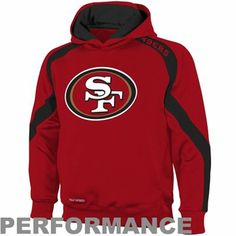 San Francisco 49ers Youth Game Day Pullover Hoodie - Scarlet 3