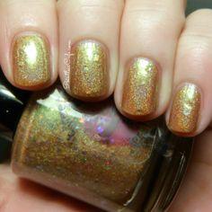 Sweetcheeks Polish: Gothic Ember and Shattered Nuclei Swatch, Nail Polish, Nail Art, Nails, Shots, Beauty, Finger Nails, Ongles, Nail Polishes