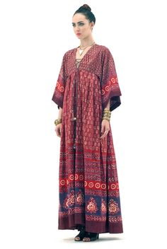 Anouk Bohemian Tribal Dress