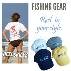 ac9b74c3fa299 Fishing Gear for inshore salt water and freshwater anglers.  www.reelskillzgear.com