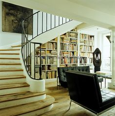 """I can usually tell the well-educated READERS from the """"book-decorators"""" by the state of their bookshelves! (I adore a bookshelf filled with BOOKS vs. tchotchkes) ~mgh 