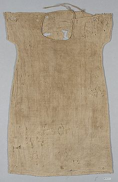 Child's Tunic. Date: 5th–9th century. Geography: Egypt. Culture: Coptic. Medium: Wool, linen; plain weave. Classification: Textiles. Credit Line: Purchase by subscription, 1889. Accession Number: 89.18.317