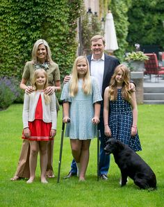 It's Summer Photo Time for the Dutch Royals