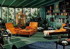 1950s Living Room -  this room - pass me a martini please!