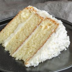 The Best Coconut Cake You'll Ever Make. The Best Coconut Cake You'll Ever Make Recipes This is the best coconut cake recipe I've ever made. This easy coconut cake is moist and delicious . Homemade Coconut Cake Recipe, Coconut Recipes, Baking Recipes, Coconut Cakes, Coconut Desserts, Christmas Desserts, Fun Desserts, Delicious Desserts, Dessert Recipes