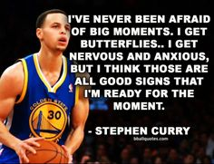 Congrats to the Golden State Warriors on being National Champs. How does MVP Steph Curry handle the pressure? Check out this quote. Its a good lesson for us.