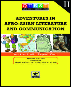 afro asian literature definition
