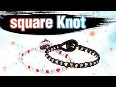 [305DIY]트리플 평매듭팔찌만들기,triple square knot friendship bracelets DIY tutorial