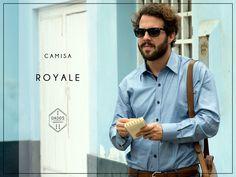 Camisa ROYALE 100% Algodón Pima Slim Fit Tallas: S - M - L  Encuéntrala en: -Showroom (previa cita) -Vernacula  +Delivery gratis a todo el Perú.