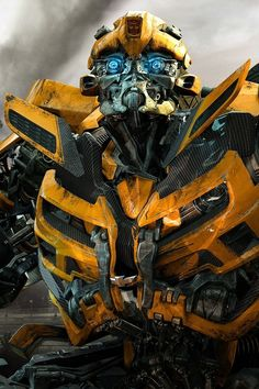 Transformers bumble bee. one of the coolest and funniest guys.
