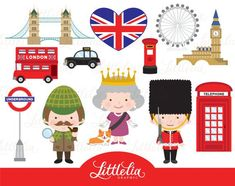 London clipart British London clipart by LittleLiaGraphic Shopping Clipart, Photo Kawaii, Crown Clip Art, Clipart Noel, British Party, Image Clipart, Ancient Egypt, London England, Fun Projects