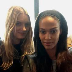 Lily Donaldson and Joan Smalls