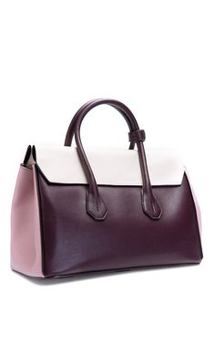 Cherry Leather Tote Bag by Bally - Spring-Summer 2015 (=)